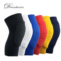 Elbow & Knee Pads Honeycomb Compression Leg Sleeve Basketball Kneepad Football Support Warmers Protector Sport Safety Shin Guard Gym
