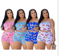 Plus size 4XL Women casual outfits sports Tracksuits sexy Two piece sets summer jogger suit strapless sleeveless tank top+short pants 0001