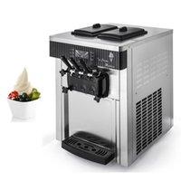Commercial Soft Serve Ice Cream Machine Vending Stainless Steel Automatic Sundae Makers 220V 110V