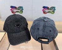 Moda Erkek ve Kadınlar Yıkanmış Denim Baz Topu Şapka Beyzbol Şapkası Golf Şapka Snapback Beanie Kafatası Caps Stimy Brim En Kaliteli Casquette
