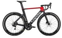 Черный красный каньон Аэродородный CFR Полная дорога Полный велосипед DIY с R7020 Ultegra R8020 GruidSet Wheelset