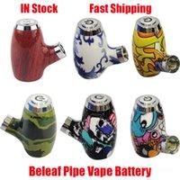 Original BeAft Pipe Battery Smart Vape Pen Cartucho ajustable 900mAh Precalentamiento VV Baterías VAIERABLE VOLTAJE 510 Hilo Vapor de Hilo Mod 100% Auténtico