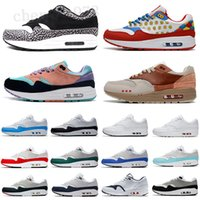 2021 ATMOS 1 87 Parra Sean Wotherspoon Blue Mens Runnin Shoes Animal Pack 1S 87S Leopard Classic Athletic Mulheres Sneakers Treinadores C33