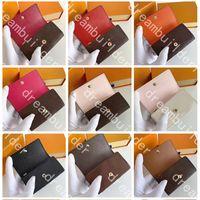 M62630 Top Designer Moda Keychain Handmade PU Couro Cardholder Car Chaveiros Homem Mulheres Bolsas Chave Charme Pendurado Decoração Acessórios Pingente com Caixa