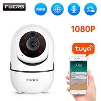 Высказывание 1080p IP-камера Tuya Smart Автоматическое отслеживание Домашняя безопасность Внутреннее наблюдение Wife WiFi Baby Monitor 210618