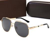 Lunettes de soleil design Mens femmes Polarized Fashion Shield Vintage rétro UV400 lunettes lunettes