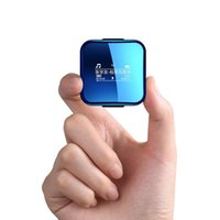 MP4-spelers 8GB 16GB Mini MP3 Wireless Aptx Bluetooth 2.0 Inch DAC HIFI Lossless OTG WALKMAN MET CLIP SPORTEN RUISTE DRAAGBARE MUZIEK PLAYE