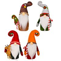 Рождество Gnome Plush Yule Santa Nisse Figurine Swedish Nordic Tomte Scandinavian Elf X'mas Holiday Home Decor Украшения Xbjk2109