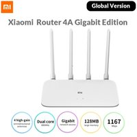 Version globale Xiaomi MI Router AX1800 WIFI 6 1800 MBPS CHP 5-CORE Chuce de 5 Core 256MB RAM 2.4G / 5G Dual Fréquence Network Network AX5 4 Antennes