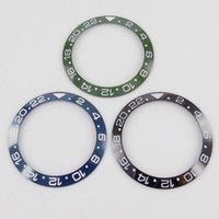 Repair Tools & Kits High Quality 39.9mm Blue Green Black Watch Ceramic Bezel Insert Fit 43mm Automatic