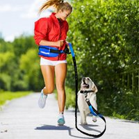 Waist Sports Bag Dog Rope Suit Reflective Elastic Explosion Proof Outdoor Pet Running Rope