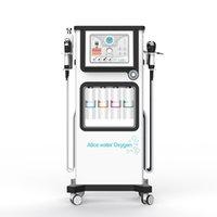 الأحدث 7 في 1 Hydra Water Hydro Oxygen Jet Dermabrasrasion مع التنظيف العميق آلة CO2 معدات الوجه