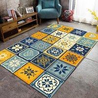 Teppiche 200 * 300 cm modische moderne farbe näht mosaik applique türmatte schlafzimmer wohnzimmer küche boden teppich