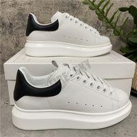 2021 Top Qualität Herren Womens Leder Lässige Schuhe Lace Up Flat Comfort Hübsch Trainer Täglich Lifestyle mit Kastengröße EUR 35-45