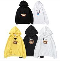 764 고품질의 고급스러운 성격 남성과 여성의 후드 풀오버 브랜드 럭셔리 디자이너 까마귀 스포츠웨어 스웨터 패션 트랙 슈트 레저 자켓