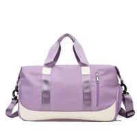 Duffel Bags Sport Duffle Bag Foldable Travel Gym Carry On Luggage Tote Weekender Handbags For Women 2021 Shoe Compartment Wet Pocket