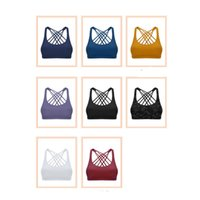 lu-DW003 8 colors Luxury designer fashion women's sports vest bra fitness running yoga wear shaping Yoga Outfits