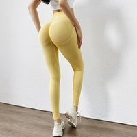 Women's Pants & Capris Elastic Push Up Women Slim Seamless Gym Leggings Sport Fitness High Waist Tights Sports Workout Running Sportswear