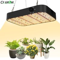 Full Spectrum LED Growth Light 600W 1800W, Dimmable Waterproof Sunlike 588pcs White LEDs for Indoor Plants and Flower Greenhouse Grow Tent