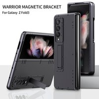 Wholesale Price Hybrid Ring Stand Holder Flip Phone Cases For Samsung Galaxy Z Fold 3