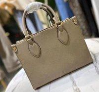 Femmes luxuries designers sacs à main M45779 6 couleurs dames sacs à provisions sacs à main sacs à main à la mode ONTHEGO PM Classic Letter Sac à bandoulière
