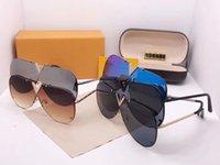 Top quality Luxury brands sunglasses Fashion multicolor classic Women Sunglasses Driving sport shading glasses Mens Sunglasses With original box #90011