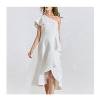 Two Piece Dress Ladies summer outfit white club ladies party sexy mini evening dress