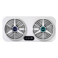 Gadgets USB Silent Fan Air Cooling Strong Double 3 Speed Adjustable Car Charging Tool Home Dual-use