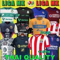 20 21 22 22 Club America Cruz Azul Soccer Jersey 2020 2021 Guadalajara Chivas Tijuana Tigres Home Away Third Liga MX Football Shirts Santos Laguna الذكرى 115