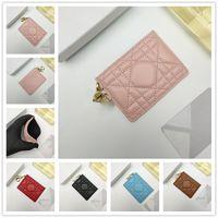 Дизайнер Real Pickup Bag Makeup BagClutch Billfold Wallet Credit ID Держатель Карты Тонкий Кошелек Банк Пакет Монета Чехол Деловой Женщины Кожаный Чехол