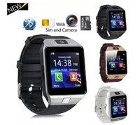 Smart Watch DZ09 Armband SIM Intelligente Android Sportuhren für Cellphones Relógio Inteligente mit Top-Qualität Batterien DHL