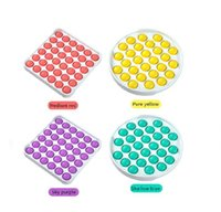 Spielzeug Die letzten Multicolor Fidget Sensory Pushs Toys Bubble Board Spiel Angst Stress Reliever Kinder Erwachsene Autismus Sonderanforderungen