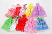 لطيف 29CM، 11 بوصة دمية الملحقات، فستان الزفاف الأميرة، لعبة طفل، أزياء قصيرة تنورة، 20 ملابس نمط، حزب عيد الميلاد فتاة عيد هدية، 2-1