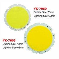 Downlights 20W 24W 30W COB Beads 70mm 76mm de diodes de la puce LED de 76 mm Lumière de surface pour ampoule