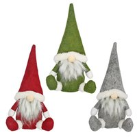 Merry Christmas Gnomes Elf Doll party Decor For Home Table Ornament Xmas Gifts Natal Navidad New Year
