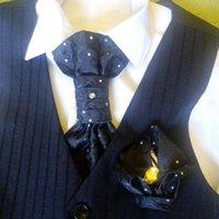 2019 Moda para hombre Cuello en el cuello Conjunto Ascot Cravat Pañuelos Pañuelo Plaza