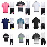 New Pro Team Rapha Cycling Jersey à manches courtes Été Vêtements de cyclisme Vêtements de vélo Set 32707