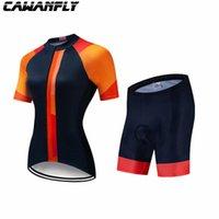 Гоночные наборы 2021 Велоспорт Спортивная рубашка Pro Команда Cawanfly Джерси Человек Летняя Вентиляция Короткие Рукав Мужская Одежда Ретро