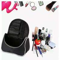 Cosmetic Bags & Cases Cosmetics Cross Border Nylon Casual Make-Up Leisure Simple Custom Black Large Capacity