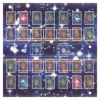 Yugioh Accessoires Carte Cadm Pad Caoutchouc Play Tapis 60x60cm Galaxy Style Competition PadMat pour YugioH Card x0925