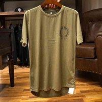 dark New t Chrome hearts green phantom cross crosin cotton short sleeve t-shirt men's and women's fashion bran