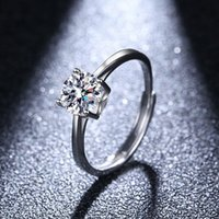 Foreign Wedding Ring Four Claw Fashion Ol Good Quality Korean Jewelry 1UY9512