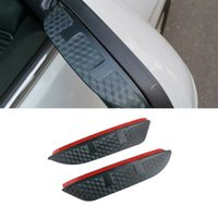 For Mercedes-Benz GL X166 GLB X247 GLC X253 GLK X204 GLS 2PCS Car Stickers Side Rearview Mirror Rain Eyebrow Visor SunShade Guard