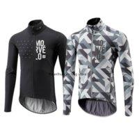 2019 Yeni Bahar / Sonbahar erkek Morvelo Maillots Ciclismo Uzun Kollu Bisiklet Jersey Gömlek MTB Dağ Bisikleti Giyim Tops