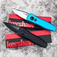 """Kershaw KS7500 KS7350 Coltello pieghevole automatico 1.9 """"CPM-154 DLC Blade, Blue Black Alluminio Maniglie EDC Tasch Coltelli Gli strumenti di autodifesa sono applicabili agli uomini e ai Wome"""