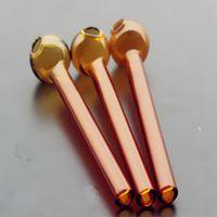 QBSOMK 10 CM más barato Colorido Pyrex Vidrio Aceite de Vidrio Tubo Tubo de Vidrio Tubos Fumar Tubos Tobcco Hierba Vidrio Aceite de Vidrio Uñas HHC6881