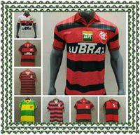 Jersey de football classique Flamengo 2008 09 Flamengo Home rétro Jersey Adriano Kleberson Josiel Vintage Jersey Old Shirt de football