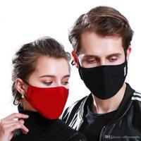 24h DHL Statek, DEAGER Maska bawełniana PM2.5 Czarne usta Anti Dust Face Maska z filtrem węgla aktywnego Wiatroodporny usta-mufla dla mężczyzn kobiet