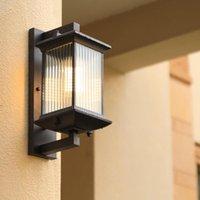 Chinese Waterproof Wall Lamp Outdoor Corridor Aisle Balcony Garden Courtyard Gate Lamps