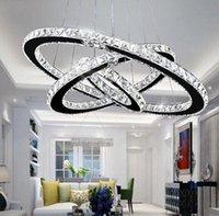 Modern K9 Crystal Led Chandelier Lights Home Lighting Chrome Lustre Chandeliers Ceiling Pendant Fixtures For Living Room